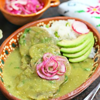 Beef Tongue in Salsa Verde Recipe Plated