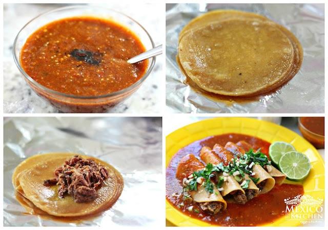 Tacos Tlaquepaque Style Preparation 2