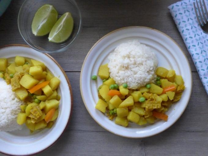 Peruvian Cau Cau Plated