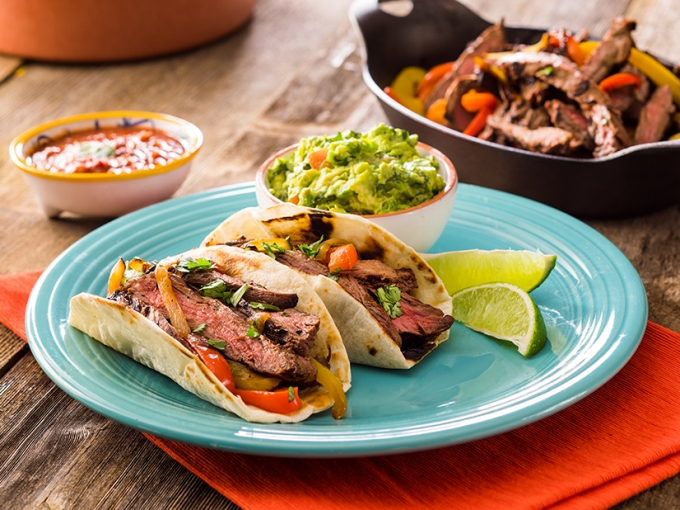 Rumba Meats Flap Steak Tacos